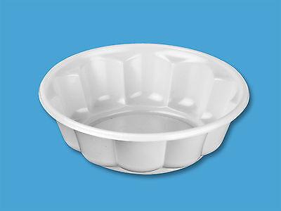 100 Salatschalen ca. 180ml PS Plastikschale Einweggeschirr Schale Dessertschale