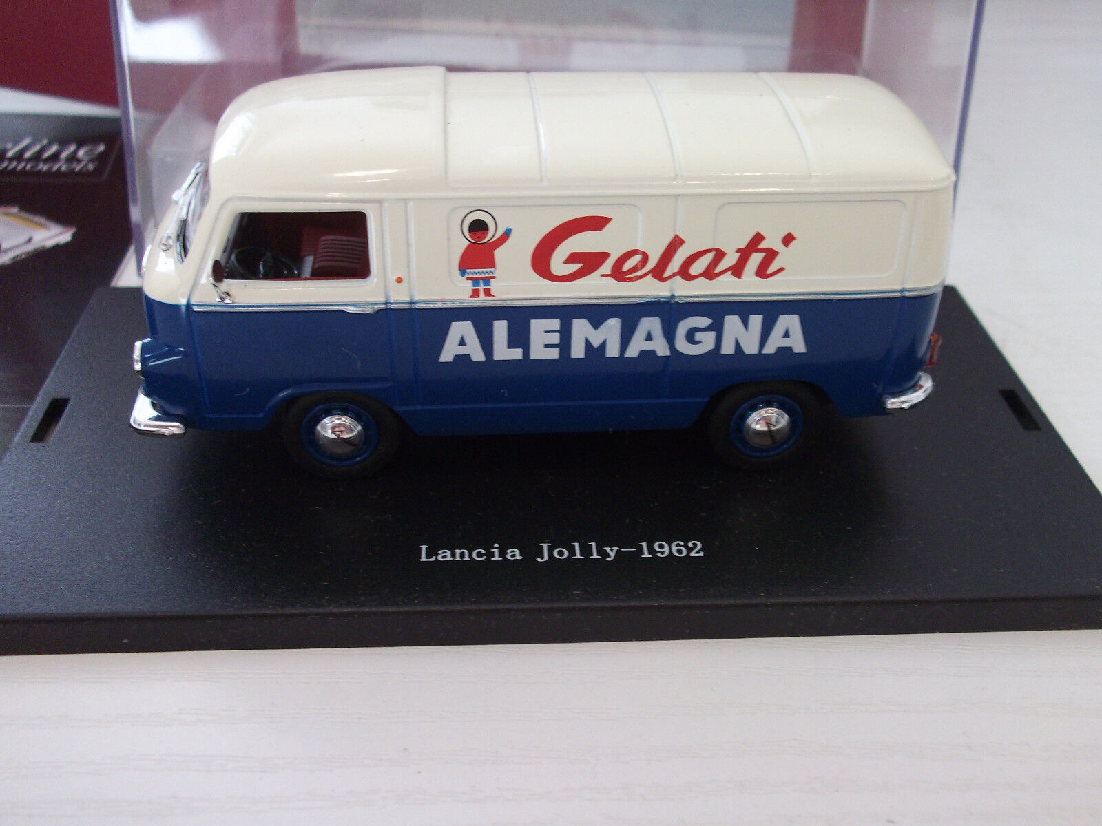Starline Models 157621 Lancia Jolly 'Gelati Alemagna' 1962  1:43 in Vitrine OVP
