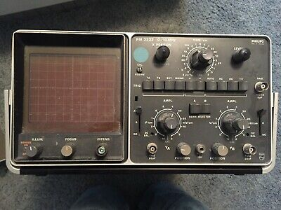 Used Philips Oscilloscope Pm3232