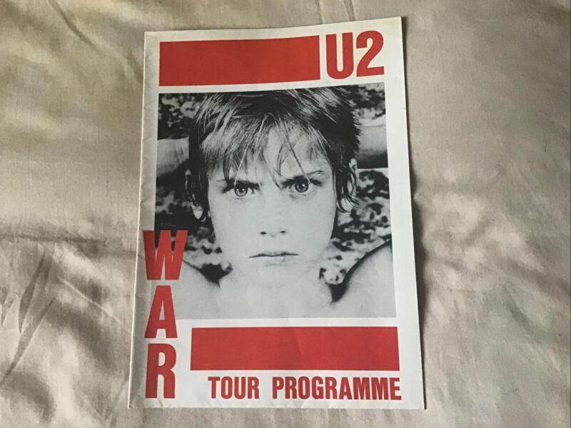 U2 WAR TOUR POSTERGRAM.USED.