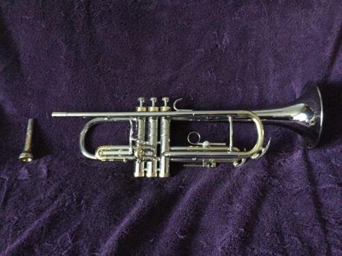 """Conn 38B """"Connstellation"""" Trumpet 1966 Great Original Condition Nickel Plated"""
