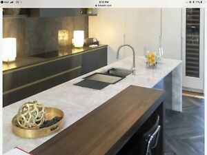 Save huge with granite, marble and quartz remnants