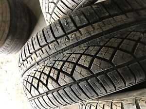 Four continental extreme contact 225/40R18.