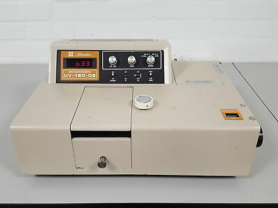 Shimadzu Uv-120-02 Lab Spec Laboratory Spectrophotometer