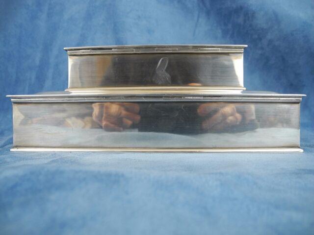 Vintage Tiffany & Co. Ahrendt & Kautzman AK Sterling Silver Humidor Cigar Box