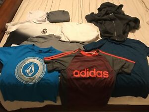 Boys clothing, mostly size lg 10-12