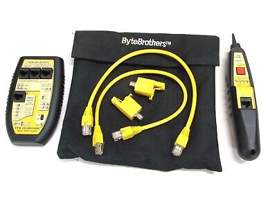 Triplett Bytebrothers Tvr 101001000 Lan Tester With Remote Probe