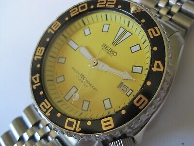 ICONIC SEIKO 150M DIVERS SUBMARINERS MECHANICAL AUTOMATIC 42MM WATCH 7002-7000
