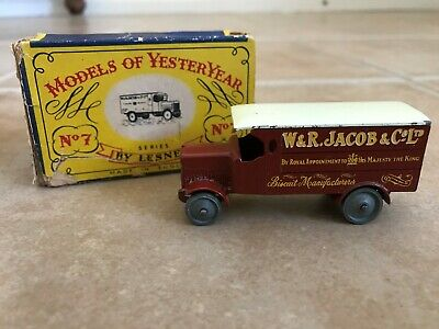 Matchbox No. 7 Models of YesterYear 4 Ton Leyland W&R Jacob & Co. Ltd Toy Truck