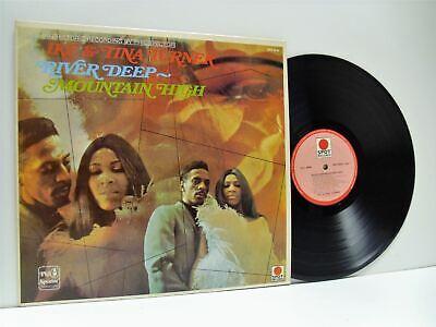 IKE AND TINA TURNER river deep mountain high LP EX+/EX, SPR 8548, vinyl,