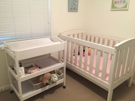 Wanted: Cot and change table