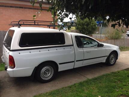 2005 Ford Falcon Ute + rwc+12 moths rego Burwood East Whitehorse Area Preview