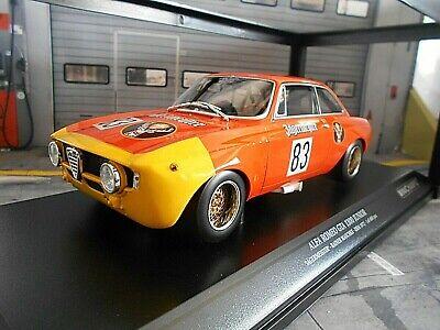 ALFA ROMEO GTA 1300 Giulia DRM 1972 #83 Machke Jägermeister Minichamps 1:18