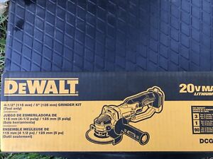 New  dewalt cordless grinder with new 4 amp hour  battery