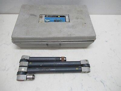 Hp Hewlett Packard 11605a Flexible Arm Apc-7 Connectors Lab Unit W Case Vintage