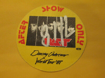 RATT - 1987 DANCING UNDERCOVER TOUR - AFTER SHOW ONLY ACCESS - BACKSTAGE PASS