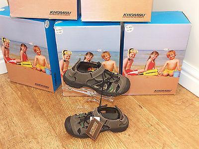 brand new boxed kids/junior khombu closed toe sandal fantatic quality