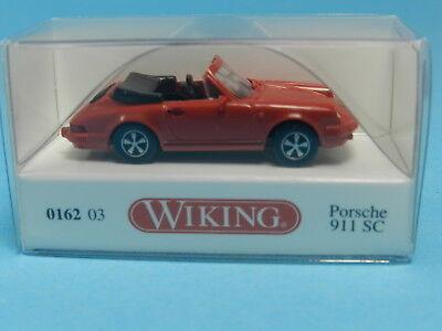WIKING 016203 PORSCHE 911 SC ROT 1:87