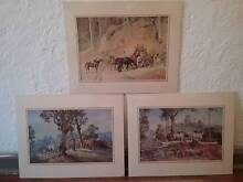 """3 prints Darcy Doyle and Tom Roberts 50 the lot"""" Wembley Cambridge Area Preview"""