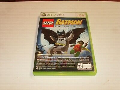 XBOX 360 LEGO BATMAN THE VIDEO GAME & PURE COMPLETE