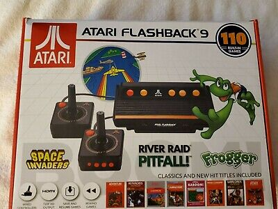 Atari Flashback 9 AR3050 HDMI Game Consoles with Wired Joystick Controllers - Bl