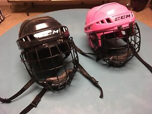 Youth sm hockey helmets