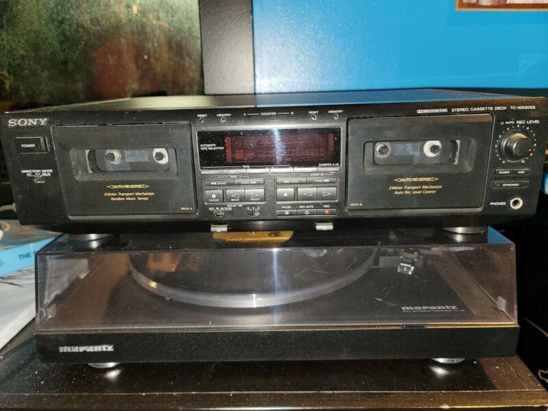 Sony TC-WE605S