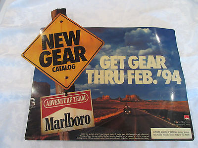 Vintage Marlboro Advertising Change Mat  Get Gear  Philip Morris Usa 1993