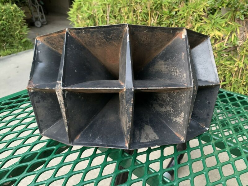 Vintage 8 Cell Horn For Western Electric 555 Single