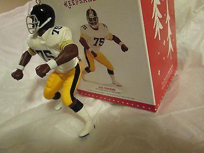 Joe Greene - Pittsburgh Steelers - Mean Joe Greene - Hallmark Ornament 2015 760dbe4ad23e