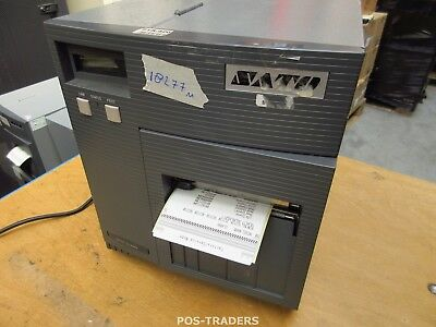 """SATO CL408E Parallel Thermo Label Drucker REWINDER 203dpi 4.1"""" 104mm - 18277 M"""