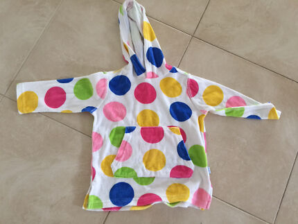 Hooded Towelling Long Sleeve Top for after Swimming Landsdale Wanneroo Area Preview