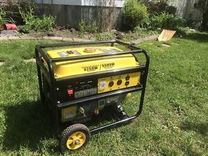 5500W generator -like new