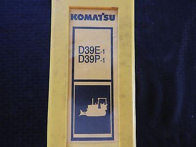 Komatsu Dresser D39e D39p D 39 Ex Px Crawler Dozer Tractor Parts Catalog Manual