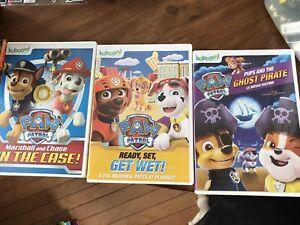 3 Paw patrol DVDs