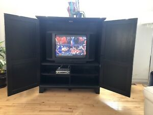 Television and Wall Unit