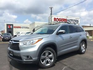 2014 Toyota Highlander LTD AWD V6 - NAVI - PANO ROOF - LEATHER