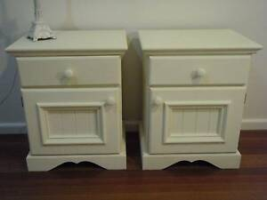Pair of Bedside Cabinets/Tables - Vintage style/ Shabby Chic Warrimoo Blue Mountains Preview