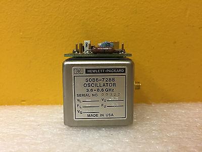 Hp Agilent 5086-7288 3.6 To 8.6 Ghz Sma Yig Oscillator 5061-1026 Board Assy