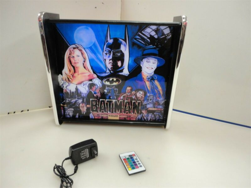 Batman Data East Pinball Head LED Display light box