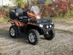 2009 Sportsman 850XP 4x4, low miles, fully equipped