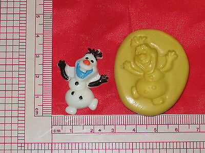 Frozen Snowman Character Silicone Mold Cake Chocolate Resin Fondant Candy 172