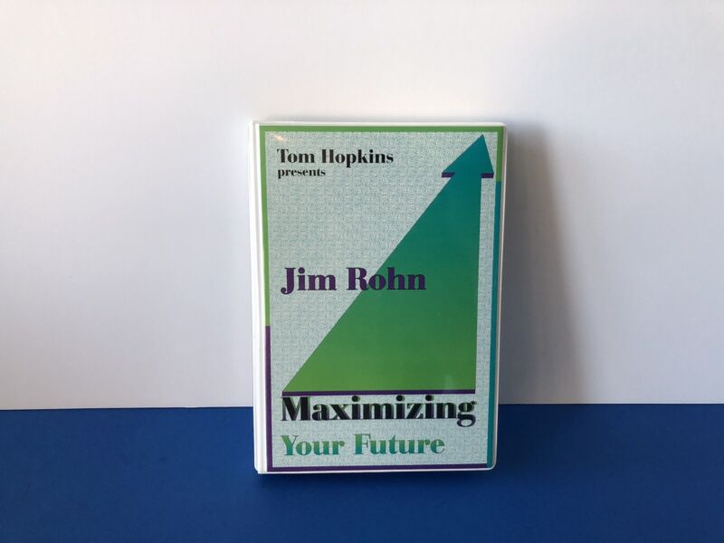 Vintage Jim Rohn Maximizing Your Future 5 Cassette Tape Set Rare Audio Tapes