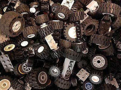 Lego® 50 Reifen Räder - 25 Achsen Fahrzeuge Auto Kg (L280) online kaufen