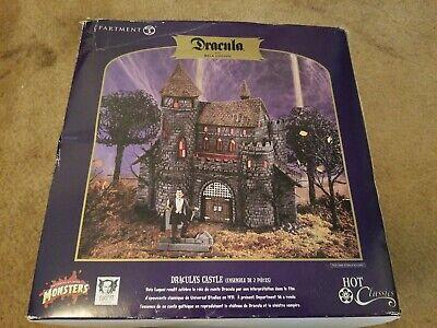 Dept 56 Universal Studios Monsters Dracula's Castle Good Condition w/Box - Studio 56 Halloween