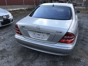 2002 Mercedes S430 Complete Part Out