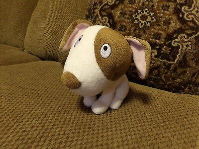 "Adorable 8"" Hallmark BULL TERRIER Brown & White Puppy DOG Plush (*67)"