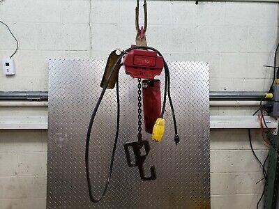 Dayton H2 Electric Chain Hoist 300 Lb. Load Capacity 115v 10 Ft. Lift
