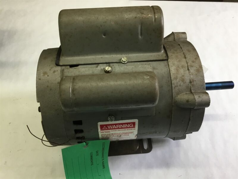 Century 7-158321-20 1/3 Hp Ac Motor 115 Volts 1725 Rpm 2P 48Y Frame Single Phase