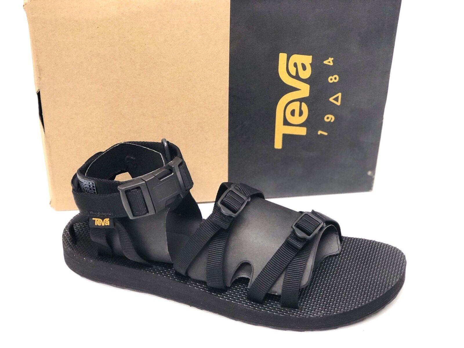 TEVA ALP Men's Black 1015849 Casual Webbing Sport Strappy Sandal Shoes